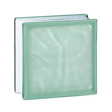 Pustak szklany 198 Green Flemish E 60 EI 15 Satynowany