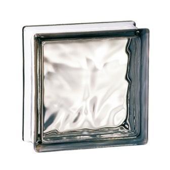 Luksfer pustak szklany 198 Grey Flemish E 60 EI 15 Satynowany