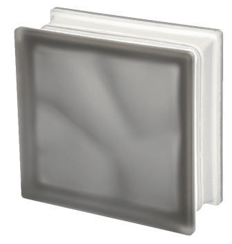 Pustak szklany luksfer 1919/8 Wave Grey Sahara E 60 Seves Basic